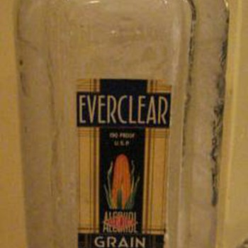 Everclear bottle found in crawl space of house