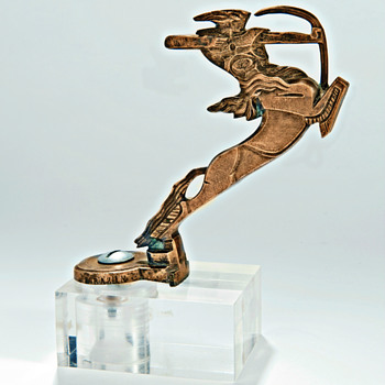 Centaure Par F. Bazin, Bronze Art Deco Mascotte - Art Deco