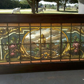 Painted Stained Glass???? - Art Glass