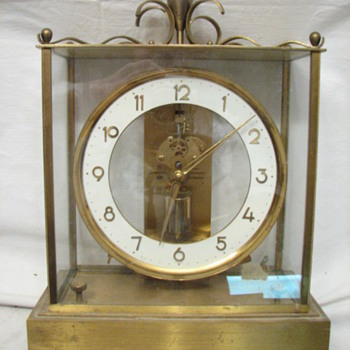 Junghans Art Deco 7 Jewel German ATO Anticlimatic Carriage clock, 1940&#039;s
