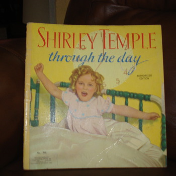 1936 SHIRLEY TEMPLE TROUGH THE DAY