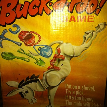 1970&#039;s Buck-A-Roo Game - Games