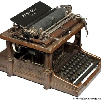 Rem-Show typewriter - 1896