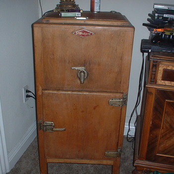 ANTIQUE ICE BOX - Kitchen