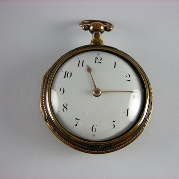 Tortoise Shell  English Verge Fusee  - Pocket Watches