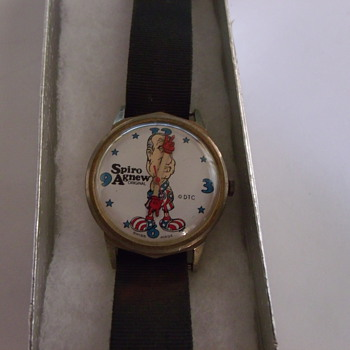 1971 Spiro Agnew Wrist Watch - Wristwatches
