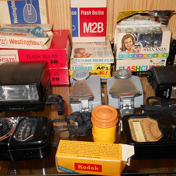 A few camera accessories