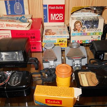 A few camera accessories - Cameras