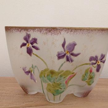 cute Legras' factory flowerbox - Art Nouveau