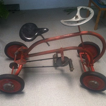 Vintage Kar-Bike Quadracycle - Toys