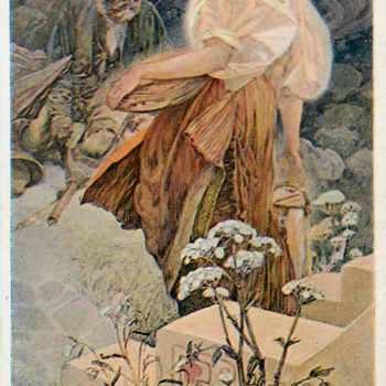 MUCHA: THE BEATITUDES II - Art Nouveau