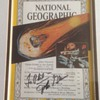 Neil Armstrong Autographed National Geographic