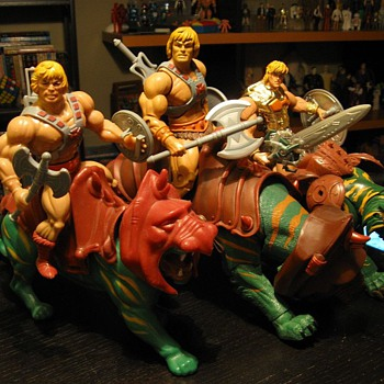 3 Generations of He-man - Toys