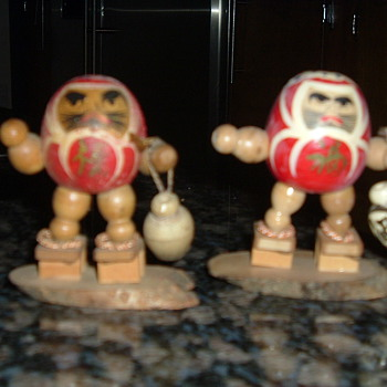 More 1950's kosheski Dolls - Asian