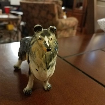 Gorgeous Collie!  One of my favorites from Grandmother's 30 yr collection