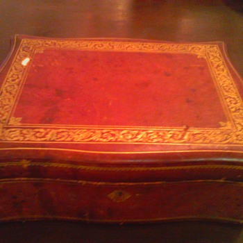italian leather jewerly box