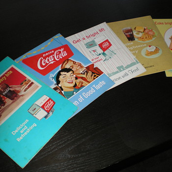 1950s and 60s Coca-Cola Menus