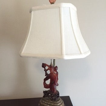 Grandparents lamp - Korean?