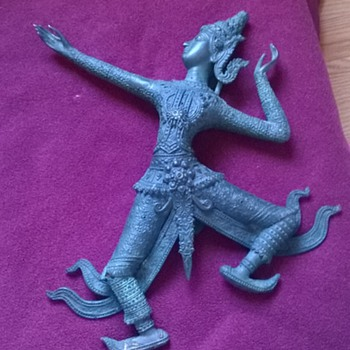 Thai dancer cast iron (I think)