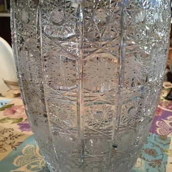 Crystal Vase? - Art Glass