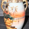 Fairly clean Early Nippon Imperial Vase, very bright colors