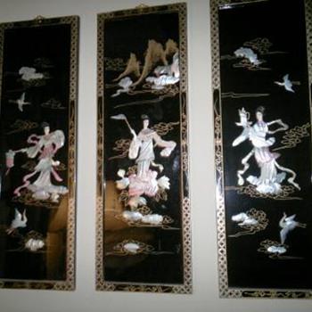 Beautiful Oriental Wall  Panels - Asian