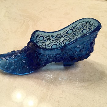 LITTLE BLUE SHOE - Glassware