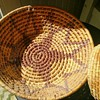 Coiled Basket With Five Point Star