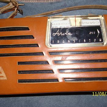 arvin transistor radio