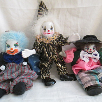 Vintage Clowns - Dolls