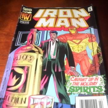 Iron Man Comic - Comic Books