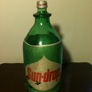 Old Sun-Drop Bottle