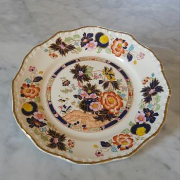 Mason's stoneware 1860 ? Imari style.