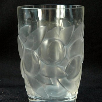 Rene Lalique Blidah Glass Circa 1931
