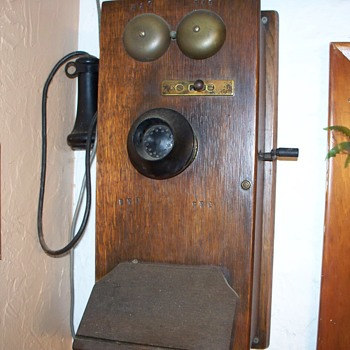 B & O old wall phone  - Telephones
