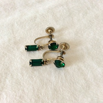 Coro earings! - Costume Jewelry