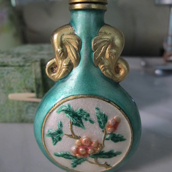 My Grandmother's Chinese Snuff Bottle