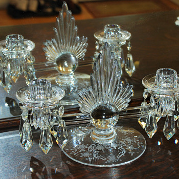 Double Candlestick holders - Lamps