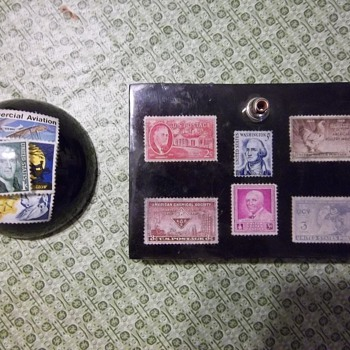 Stamps set in resin - Paperweights & things - Stamps