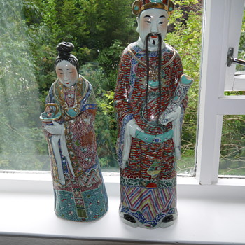Exquisite Asian statues needing identification