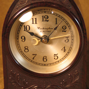 Washington Electric Cathedral Clock - Clocks