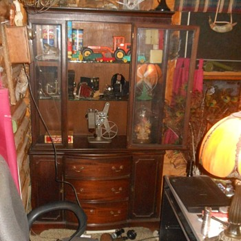 Possibly Antique China Cabinet - Furniture