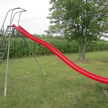 Vintage Playground Equipment - Outdoor Sports