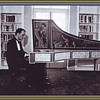 Concert Italian Harpsichord with Milanese Tapestry of the 1730's.