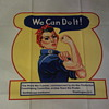 World War 2 Poster Rosie the Riveter