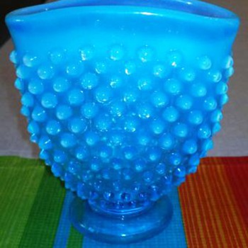Beautiful  Blue Glass - Art Glass