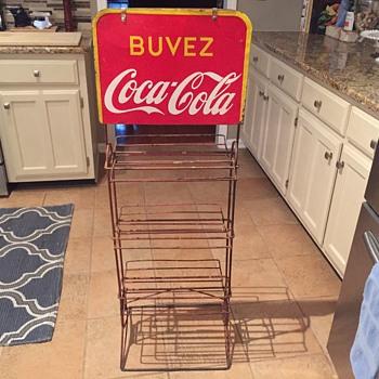 Coca Cola Display Rack