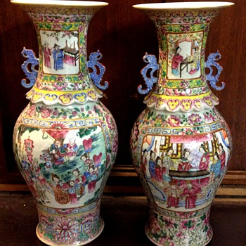 Historic Japanese Vase?? - Asian