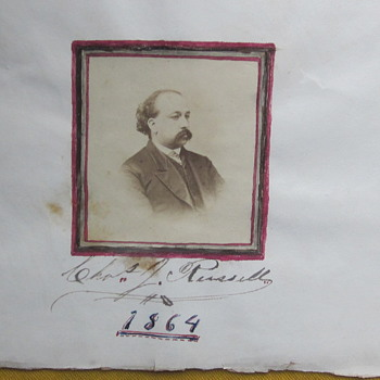 Civil War Contract US Army Surgeon C.J. Russell - Photographs