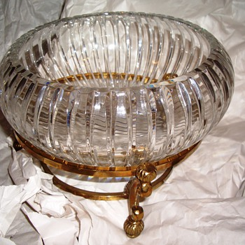 Early American Cut Glass-Gorgeous Bowl